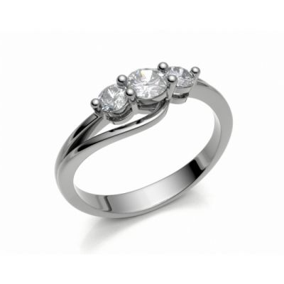 Engagement ring Florencie white gold 14kt with diamonds   45, 46, 47, 48, 49, 50, 51, 52, 53, 54, 55, 56, 57, 58, 59, 60, 61, 62, 63, 64, 65, 66, 67, 68, 69, 70, 71, 72, 73