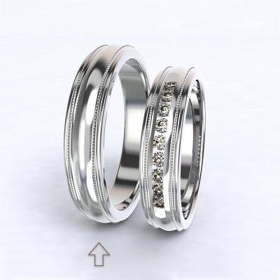 Men's Wedding Band Avignon white gold 14kt | 45, 46, 47, 48, 49, 50, 51, 52, 53, 54, 55, 56, 57, 58, 59, 60, 61, 62, 63, 64, 65, 66, 67, 68, 69, 70, 71, 72, 73