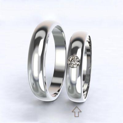 Women's Wedding Band Polibek white gold 14kt with diamond   45, 46, 47, 48, 49, 50, 51, 52, 53, 54, 55, 56, 57, 58, 59, 60, 61, 62, 63, 64, 65, 66, 67, 68, 69, 70, 71, 72, 73