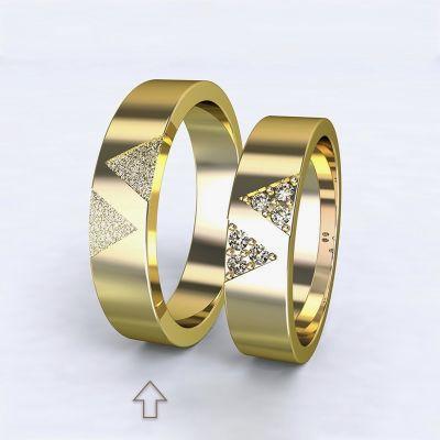 Men's Wedding Band Agapé yellow gold 14kt | 45, 46, 47, 48, 49, 50, 51, 52, 53, 54, 55, 56, 57, 58, 59, 60, 61, 62, 63, 64, 65, 66, 67, 68, 69, 70, 71, 72, 73