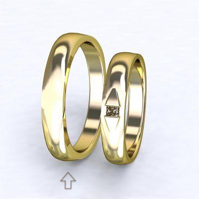 Men's Wedding Band Ancona yellow gold 14kt