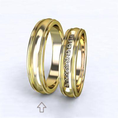 Men's Wedding Band Avignon yellow gold 14kt | 45, 46, 47, 48, 49, 50, 51, 52, 53, 54, 55, 56, 57, 58, 59, 60, 61, 62, 63, 64, 65, 66, 67, 68, 69, 70, 71, 72, 73