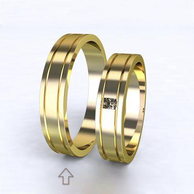 Men's Wedding Band Essential yellow gold 14kt | 45, 46, 47, 48, 49, 50, 51, 52, 53, 54, 55, 56, 57, 58, 59, 60, 61, 62, 63, 64, 65, 66, 67, 68, 69, 70, 71, 72, 73