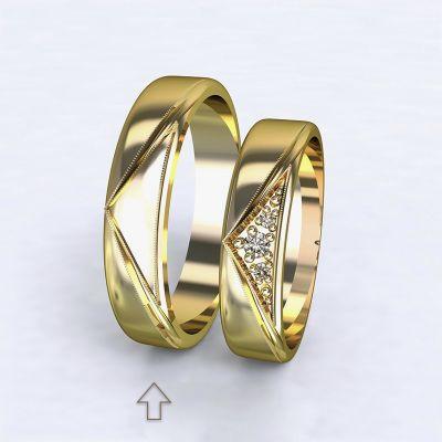 Men's Wedding Band Fantasia yellow gold 14kt | 45, 46, 47, 48, 49, 50, 51, 52, 53, 54, 55, 56, 57, 58, 59, 60, 61, 62, 63, 64, 65, 66, 67, 68, 69, 70, 71, 72, 73