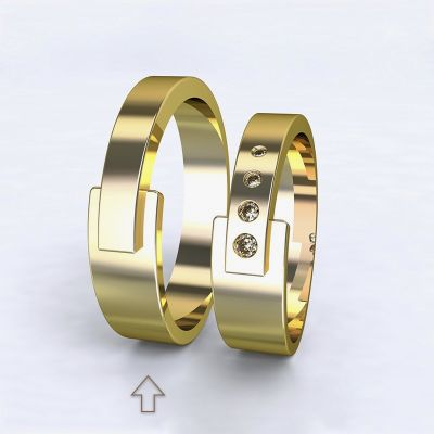 Men's Wedding Band Loira yellow gold 14kt | 45, 46, 47, 48, 49, 50, 51, 52, 53, 54, 55, 56, 57, 58, 59, 60, 61, 62, 63, 64, 65, 66, 67, 68, 69, 70, 71, 72, 73