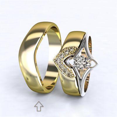 Men's Wedding Band Roma yellow gold 14kt | 45, 46, 47, 48, 49, 50, 51, 52, 53, 54, 55, 56, 57, 58, 59, 60, 61, 62, 63, 64, 65, 66, 67, 68, 69, 70, 71, 72, 73