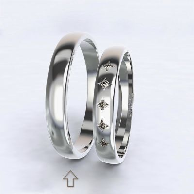 Men's Wedding Band Special Moment white gold 14kt   45, 46, 47, 48, 49, 50, 51, 52, 53, 54, 55, 56, 57, 58, 59, 60, 61, 62, 63, 64, 65, 66, 67, 68, 69, 70, 71, 72, 73
