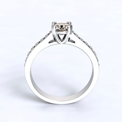 Ring Veria - white gold 14kt with diamonds