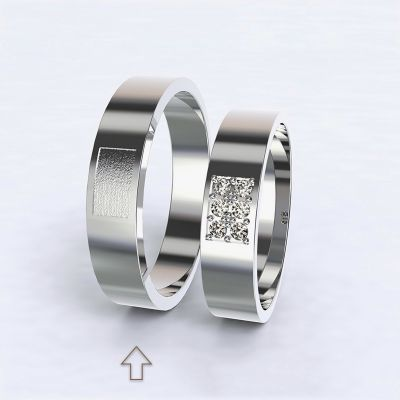 Men's Wedding Band Purity white gold 14kt   45, 46, 47, 48, 49, 50, 51, 52, 53, 54, 55, 56, 57, 58, 59, 60, 61, 62, 63, 64, 65, 66, 67, 68, 69, 70, 71, 72, 73